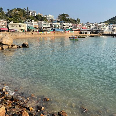 Yung Shue Wan village on Lamma Island - this is an excellent day trip from Hong Kong and is easily reached by ferry from Central Pier 4