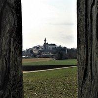 Kloster Andechs das Endziel der Wanderung