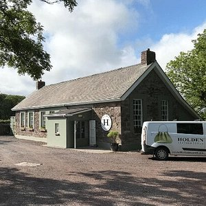 Holden Leathergoods workshop in  Burnham outside Dingle town at the start of the Slea Head drive.