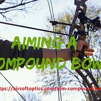 Learn - How to Aim properly with a Compound Bow. Only 4 Steps will make enjoyable target practice and hunting. Aiming system in a compound bow is made up scope and peep sight! Happy Shooting!
