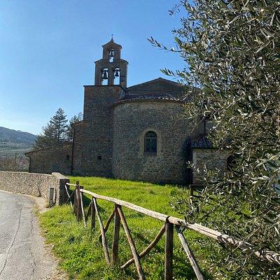 Chiesa di Santa Reparata a Mercatale Valdarno, Bucibe, Montevarchi . Arezzo