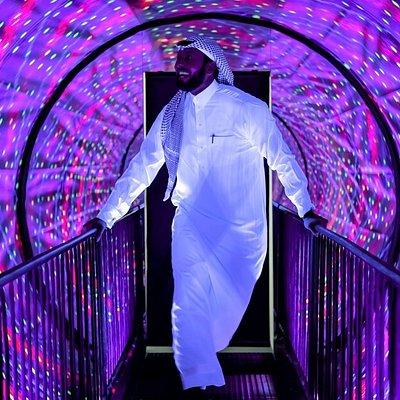 Museum of Illusions Riyadh - Vortex tunnel