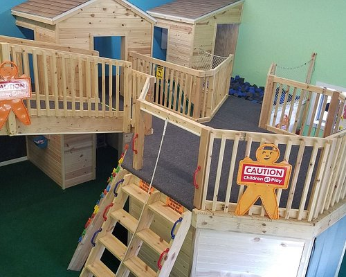 Our one of a kind Indoor Playland.
