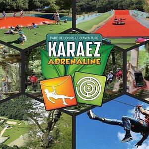 Karaez Adrénaline, votre parc de loisirs et d'aventures en pleine nature à Carhaix dans le Finistère