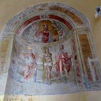 Gli affreschi dell'abside
