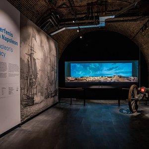 Nieuwe expositie Fort Kijkduin