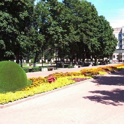 Сквер имени В.И. Ленина