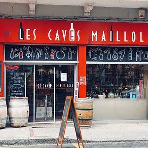 Les Caves Maillol !