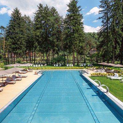Thermal Spa esterni piscina termale