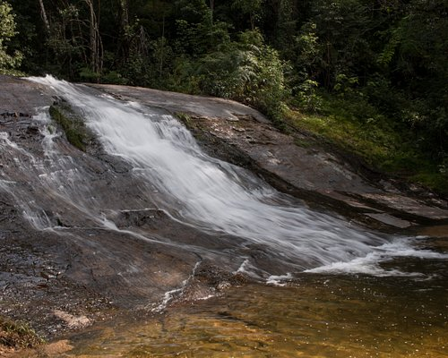The first of the two waterfalls you come at Cachoeira Lajeado