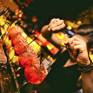 Get ready for the best happy hour in Prague every day from 6pm to 9pm.