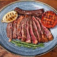 Irish Salt Moss Aged Cote de Bouef from Jorge's Churrasco -  beef & steak dinner menu