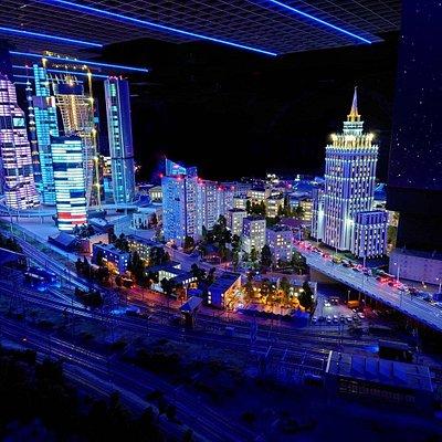 «Гранд Макет Россия» - самый большой макет в России площадью 800 квадратных метров.