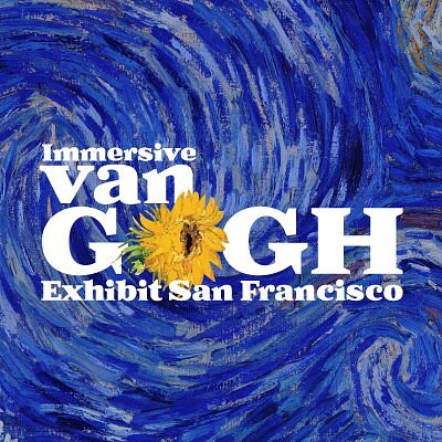 The west coast premiere of the new Immersive Van Gogh Exhibit from creators of the blockbuster show in Paris seen by over 2 million visitors and still wowing crowds in Toronto, the west coast premiere of the Immersive Van Gogh Exhibit will bring the art of Vincent to life in San Francsico.