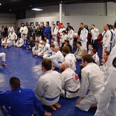 Pedro Sauer Jiu Jitsu seminar at Team Fusion Academy in Salt Lake City, Utah.