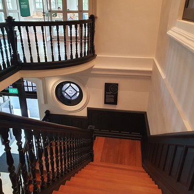 staircase of House No.7