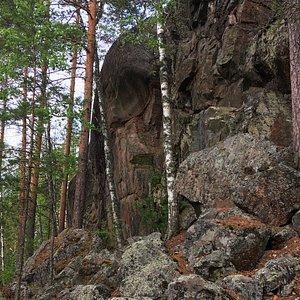 Syrjäsalmen maalaus-kallio