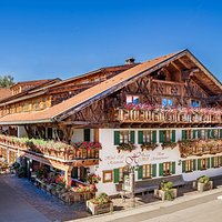 Das Hotel Helmer mit Cafe und Restaurant