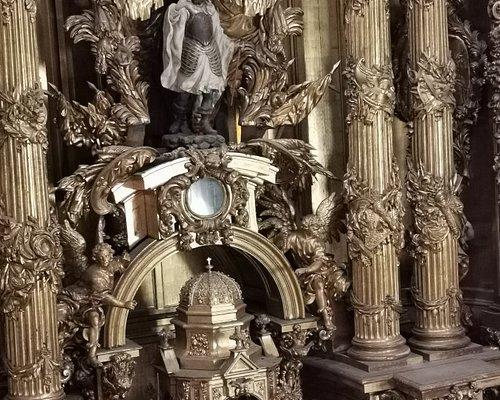 Altar mayor de la Iglesia.