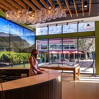 Relocated and redesigned Napa Valley Welcome Center.