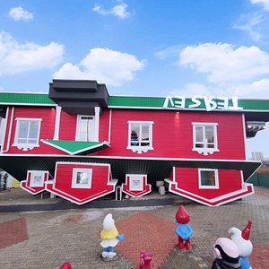Best upside down house the world