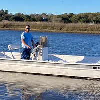 Inshore Adventures on a 21' Carolina Skiff.
