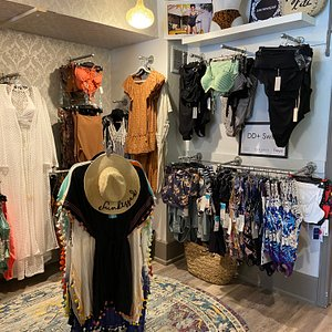 Extensive swimwear collections.