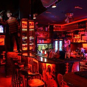 Nightmare horror bar Interior