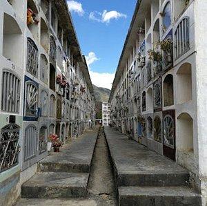 Inside Cementerio de Chachapoyas