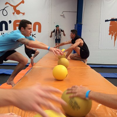 Experience extreme dodgeball on the largest dodgeball court in the country!