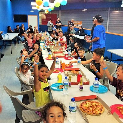 Flippin' Fun parties are so easy and hassle free. Contact to enquire at info@flippinfun.co.nz