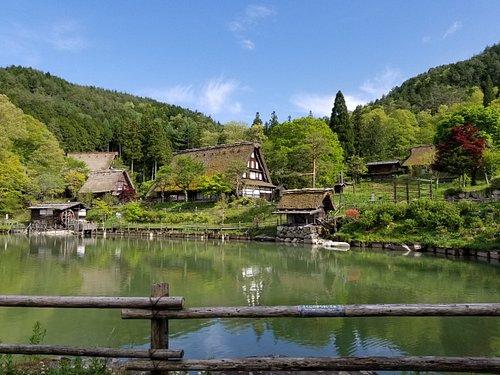 緑豊かな初夏の飛騨の里です