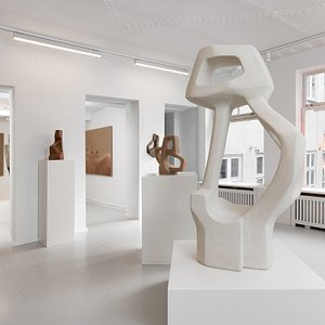 Martin Asbæk Gallery, installation view of group exhibition, 2021