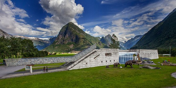 The Norwegian Glacier Museum in Fjærland.
