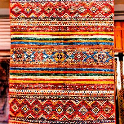 Rich colors carpet