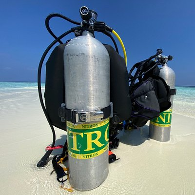 First dive center to provide Nitrox in Dhangethi