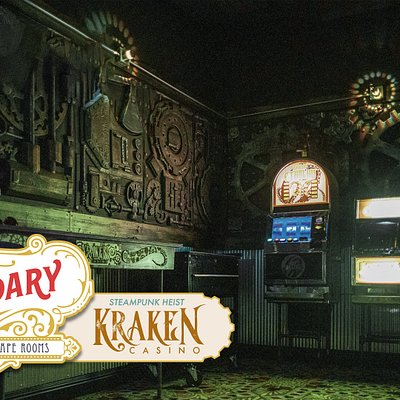 Kraken Casino is one of the 4 Brand New Escape Rooms!