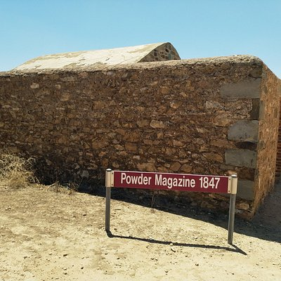 Historical mines building