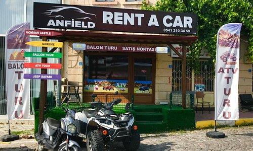 Kapadokya Rent A Car firmamız bünyesinde Kapadokya'da Göreme Otelleri, Ortahisar Otelleri, Uçhisar Otelleri, Çavuşin Otelleri, Ürgüp Otelleri anında araç teslimi yapıyoruz.