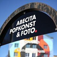 Skylt vid parkeringen. Foto: Mats Alfredsson