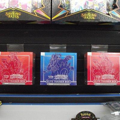 ME – SANFORD - SANFORD GAMES – POKÉMON BATTLESTYLES ELITE TRAINER BOXES