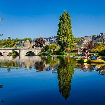 Balade en canoë-kayak entre Pont d'Ouilly et Clécy