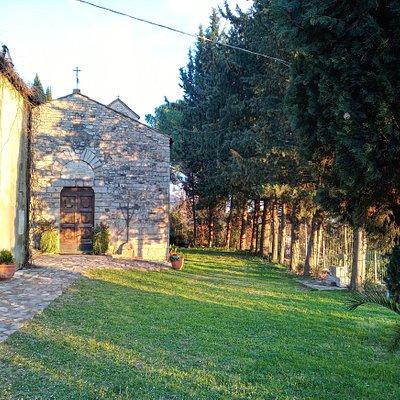 Front of Santa Cristina a Pimonte