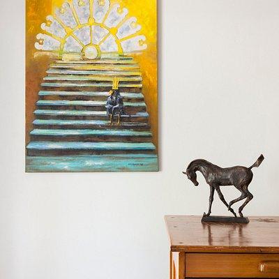 October 2020. Painting: Kristina Elo. Sculpture: Jouni Onnela.