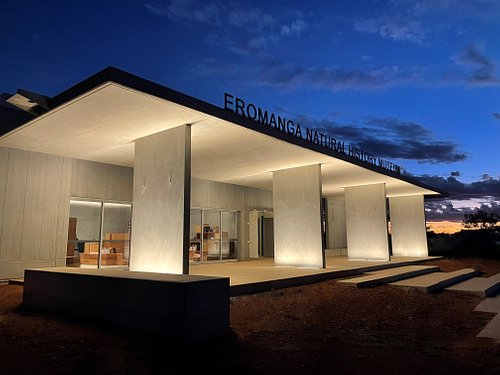 Newly Opened the Eromanga Natural History Museum boasts a huge shop, reception and Cafe.