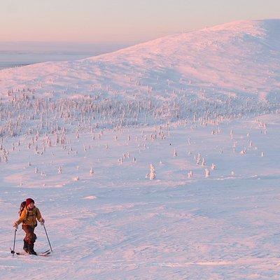 Pallas ski touring