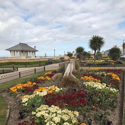 Tower Gardens, Herne Bay - March 2020