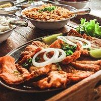 File de peixe frito