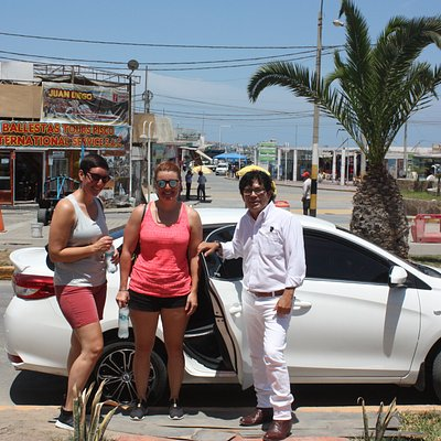 Taxis en paracas, Chaco Paracas
