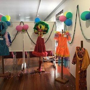 Sala dedicada ao carnaval que se celebra na Graciosa